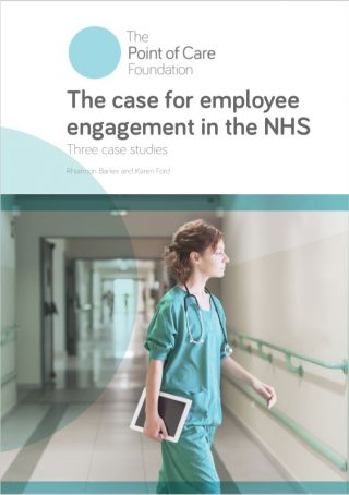 The case for employee engagement in the NHS: Three case studies cover image